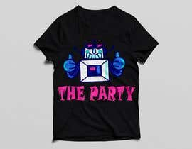 "#86 для T-shirt design ""The Party"" от golamrahman9206"
