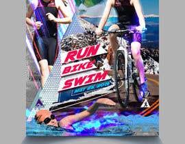 #42 untuk Triathlon Sports Poster Design oleh eliartdesigns