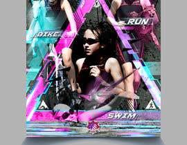 #59 untuk Triathlon Sports Poster Design oleh eliartdesigns