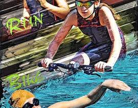 #67 untuk Triathlon Sports Poster Design oleh reyesonline