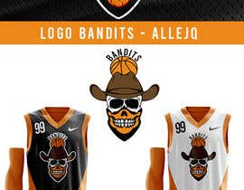 #38 untuk Logo for basketball team oleh allejq99