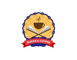 #3 untuk I need a logo for Quran & Coffee. It will be an event with coffee,I want latte art pics and barista stuff and coffeebeans and I want the spirituality religious aspect of the Quran included, be creative blending the coffee with concept of the Quran somehow oleh hamzaikram313