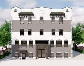 Nro 14 kilpailuun Exterior Render - Hotel käyttäjältä Notsncross