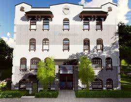 Nro 11 kilpailuun Exterior Render - Hotel käyttäjältä sampathDJ