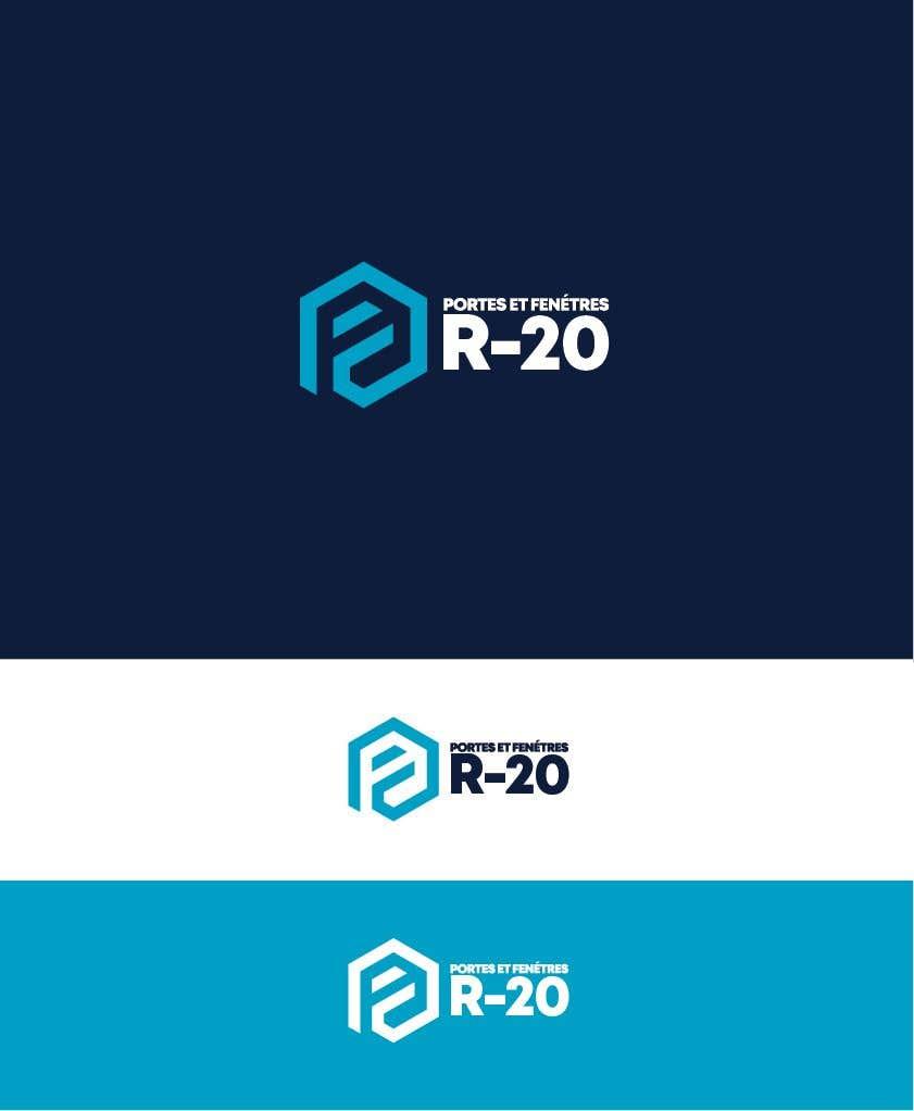Penyertaan Peraduan #144 untuk Design a logo for a doors and windows company