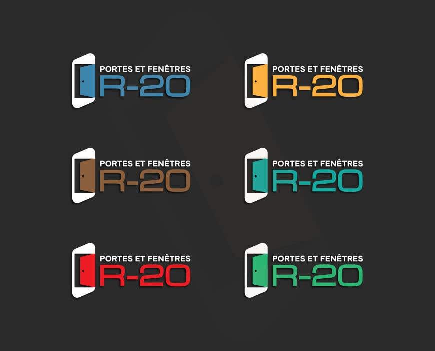 Penyertaan Peraduan #106 untuk Design a logo for a doors and windows company