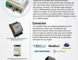 #10 for Design a one page Flyer for a technical product for air conditioners af wedesignvw