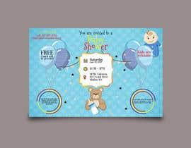 #86 untuk Baby shower flyer oleh NishanKumar14