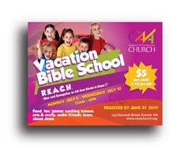 nº 66 pour Vacation Bible School Flyer par siambd014