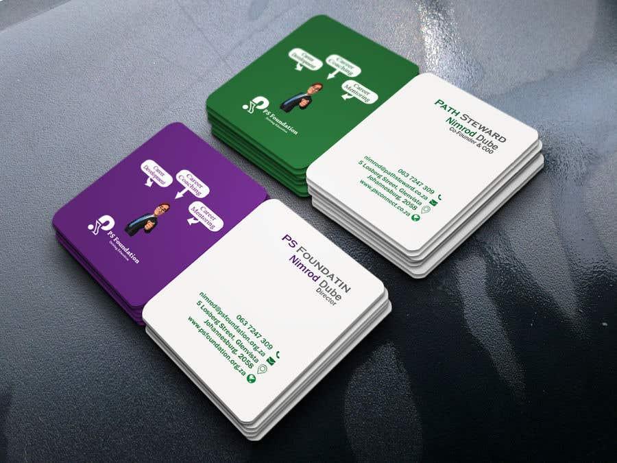 Penyertaan Peraduan #158 untuk Business card Design
