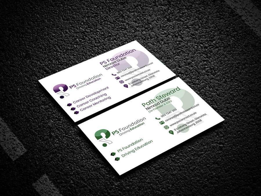 Penyertaan Peraduan #252 untuk Business card Design