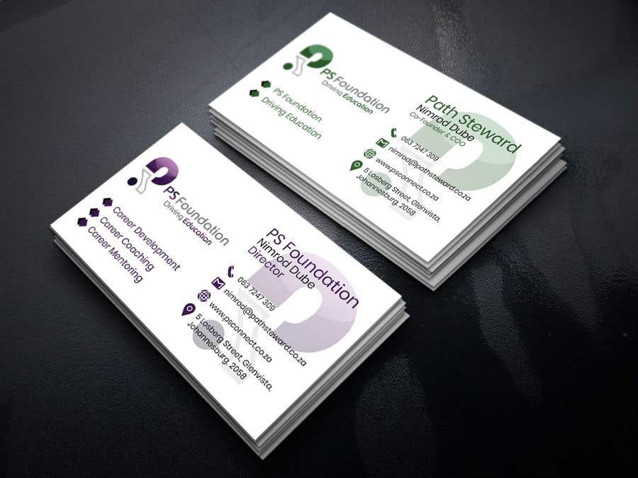 Penyertaan Peraduan #254 untuk Business card Design