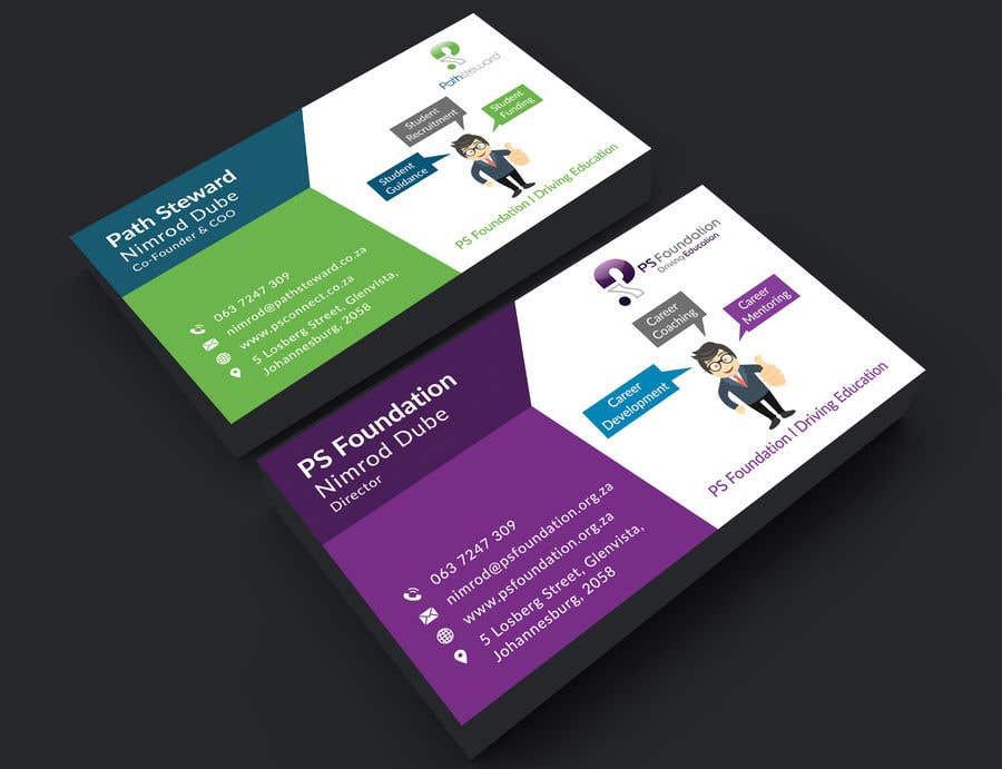 Penyertaan Peraduan #201 untuk Business card Design