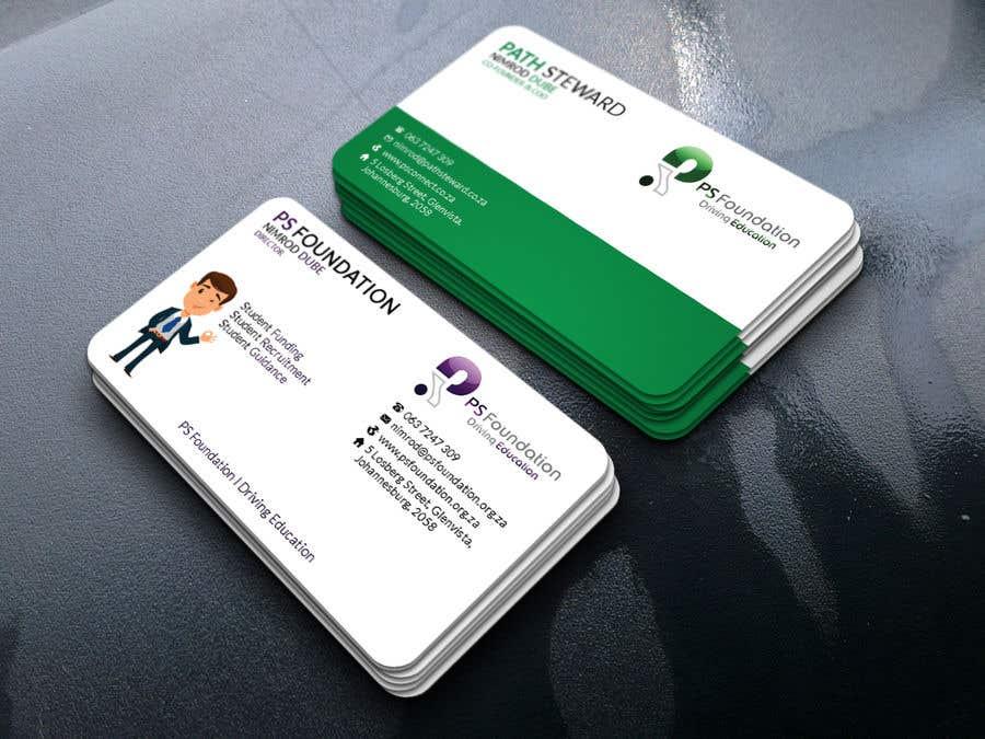 Penyertaan Peraduan #206 untuk Business card Design