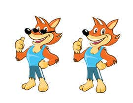#31 cho Design a cartoon fox mascot bởi fiq5a69f88015841