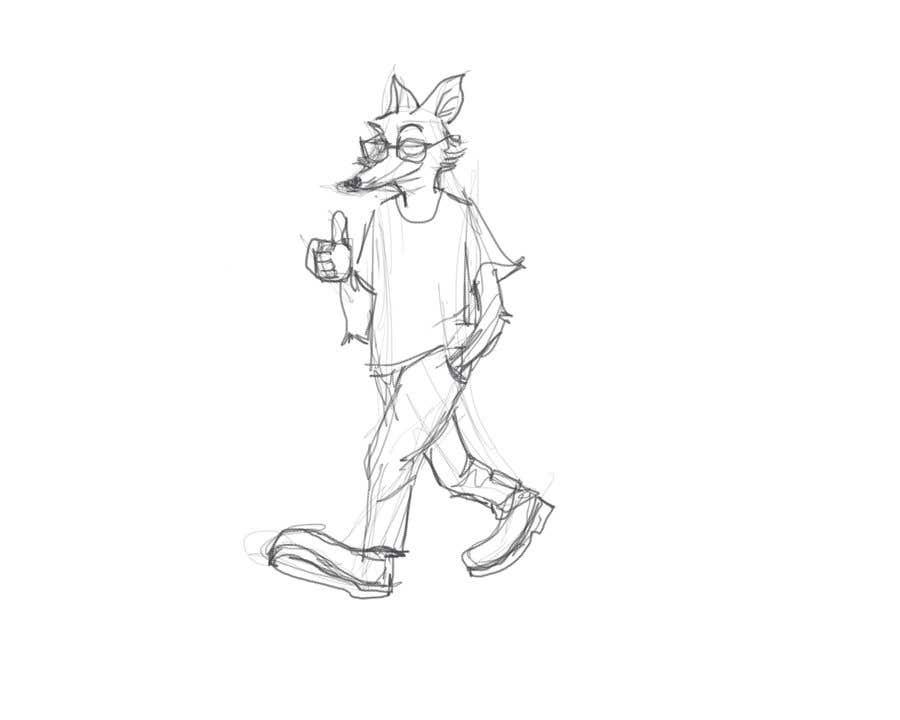 Proposition n°27 du concours Design a cartoon fox mascot