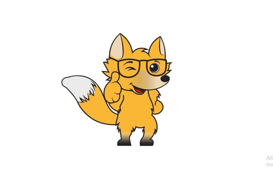 Proposition n°18 du concours Design a cartoon fox mascot