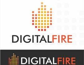 #108 for Digital Fire Logo Design by AntonLevenets