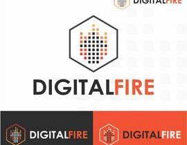 #127 for Digital Fire Logo Design by AntonLevenets