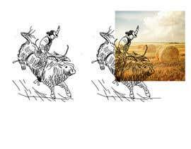 #10 cho Bull rider sketch. bởi khaldiyahya