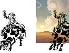 #12 cho Bull rider sketch. bởi feramahateasril