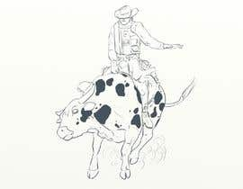 #8 for Bull rider sketch. by unreal0044