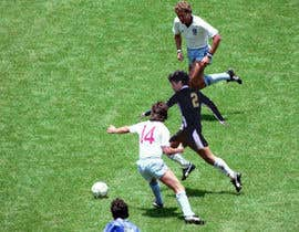 Nro 12 kilpailuun Soccer person swap käyttäjältä abdelghafour0000