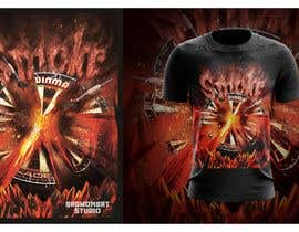 #25 для Volcano Illustration for Dart Shirt от BadWombat96