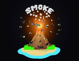 #27 для Volcano Illustration for Dart Shirt от polvolab