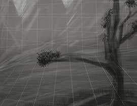 #3 for Sketch of 3d grid landscape with field of data af MariusAlza9