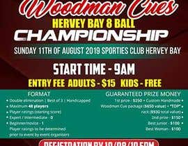 Nro 15 kilpailuun Event sports flyer käyttäjältä maidang34