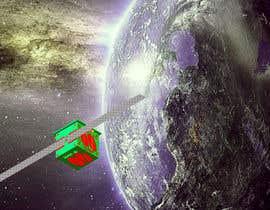 Nro 29 kilpailuun Artistic view of a satellite käyttäjältä Govindg
