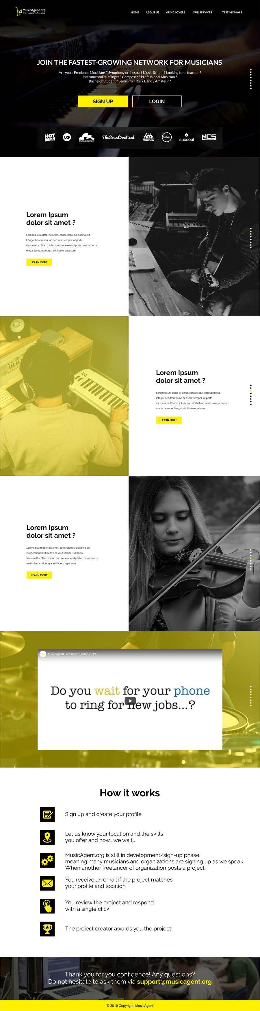 Penyertaan Peraduan #3 untuk Creative minds needed: help us get our message across by designing an explanatory page