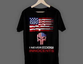 #65 for T shirt design for Americans Guns lovers af raihan397