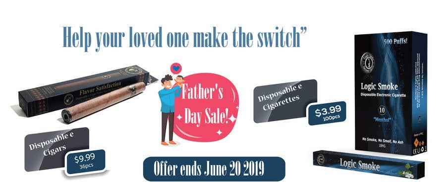 Kilpailutyö #54 kilpailussa Father's Day Sale Banner