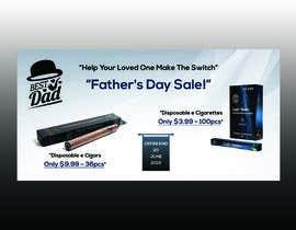 Nro 43 kilpailuun Father's Day Sale Banner käyttäjältä MariaShatul