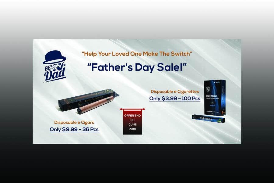 Kilpailutyö #45 kilpailussa Father's Day Sale Banner
