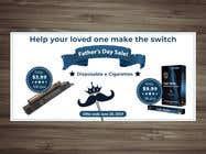 Graphic Design Kilpailutyö #75 kilpailuun Father's Day Sale Banner