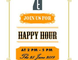 #15 for Happy Hour Invitation Card af ismailhossain122