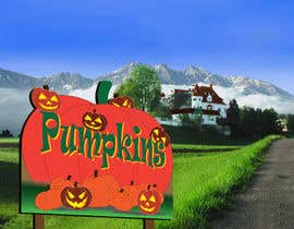 #44 para Sign for Pumpkin stand por humayonkabir1