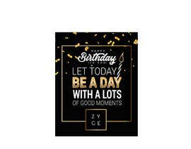 #60 for Corporate Birthday card & Happy  New Year by karypaola83