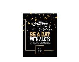 #60 untuk Corporate Birthday card & Happy  New Year oleh karypaola83