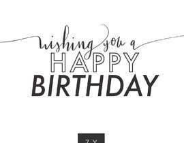 #111 untuk Corporate Birthday card & Happy  New Year oleh marielchiossone