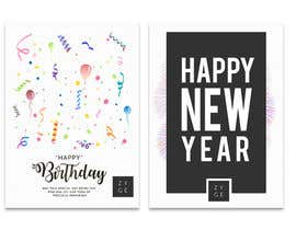 #72 for Corporate Birthday card & Happy  New Year by WinningChamp