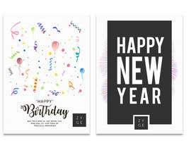 #72 untuk Corporate Birthday card & Happy  New Year oleh WinningChamp