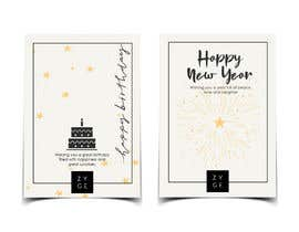 #87 for Corporate Birthday card & Happy  New Year by aishajawed