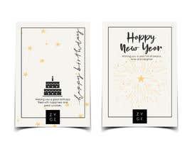 #87 untuk Corporate Birthday card & Happy  New Year oleh aishajawed