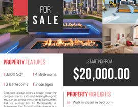 #7 for Real estate fliers af GetMeHire