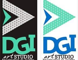#38 для Redesign -  current logo DGIART от zonaalam