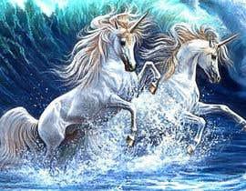 hossaingpix tarafından Design a unicorn picture for nursery painting için no 155